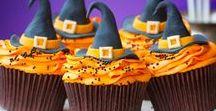 Halloweenrezepte / Schaurig schöne Halloween Rezepte - von süßen Cupcakes über ausgefallene Plätzchen bis hin zu kreativen Torten.