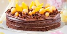 Vegane Rezepte / Schöne Rezepte für vegane Torten, Kuchen und Desserts.