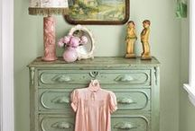 My Shabby Girlie Girl Home / How I would live IF I lived alone.