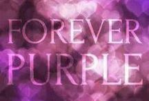 Madison Loves Purple / My Grand-daughters blood runs purple!  Purple purple purple!