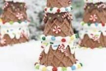 Christmas Crafts For Kids / A collection of kids Christmas crafts that are easy enough to make for all ages.