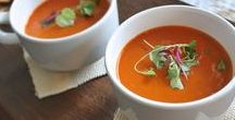 """Craving Soup. / In my """"Craving Rest"""" e-course, I stress the need to take time for yourself. Get some relief from your daily scheduling and reflect. And what better way to do that then curled up with the perfect soup?"""