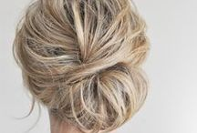 Hair / This board is a collection of hair tutorials and ideas for hair that have inspired me to break out of wearing a boring ponytail every day.
