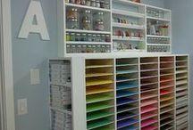 CRAFT - Craft Room Organisation