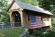 Covered Bridges~Historic Places~Forgotten Treasures / by Sabrina Copas