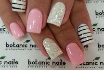 Nailed it! / Nail designs and pretty polish.   / by Brandi McGee