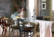 Dining room ideas / by Tes Snody