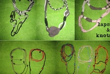 New Necklaces for New Season / Jersey necklaces, pearls and various recycled materials. Add braids, knots, needle and thread and a little 'fantasy! Easy to do, but you can have them also making a donation to the association Perilmondo Onlus http://perilmondonlus.wordpress.com/ and writing an email to info@perilmondo.org.