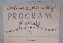 Wedding / Paper / by Sofia R