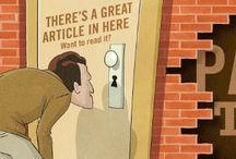 Graphisme & journalisme / Les unes, les couvertures de mags, les dessins… bref là où se rencontrent le graphisme et le journalisme.