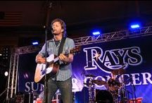 Rays Concerts / Performers who have played at Tropicana Field after Rays games.