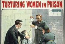 Suffragette (violence against) / Le combat des suffragettes a été violent : des images qui en sont le témoignage
