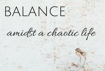 Craving Balance / Okay, so, you bought the planner. Now what? Balance can be so important in maintaining all the craziness that is your life! Let's learn how to schedule our lives and prioritize together. Check out these resources to help you maintain balance in your life.