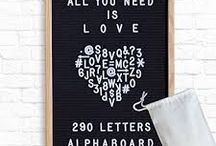 letterboards