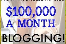 Blogging Income / Blogging income reports, trackers, ideas and tips that are great inspiration for anyone making money online.  RULES: Maximum of 3 pins per day. Vertical pins only. Avoid spam and junk ads. Unrelated pins will be removed as will your association with the board. Be sure to check to make sure your pins go directly to the link. If you would like to join, please follow me and send an email with the group board name in the subject line to info (@) earnitsaveit.com