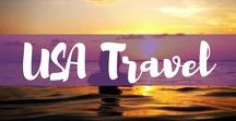 USA Travel / Heading to the USA? Here are the best pins for USA travel from trip planning, road tripping, and what to do and where to stay in the USA.