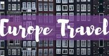 Europe Travel / Traveling to Europe? This board features inspiration, travel guides, travel itineraries and more for all your European travels. Plan your Europe travel here.