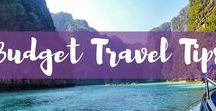 Budget Travel Tips / Who else loves to budget travel? Check out the best travel budget tips for your next vacation. Stay on your budget with these vacation budget tips.
