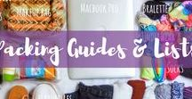 Packing Guides & Lists / Packing guides, packing lists and packing checklists for everywhere around the world. What to pack for your trip is now easier than ever.