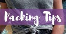 Packing Tips / All the best packing tips for travel and vacations. Packing hacks for the fashionable traveler.