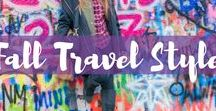 Fall Travel Style / Traveling during the Fall season? Here are the best fall travel style outfit inspirations.