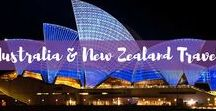 Australia & New Zealand Travel / Headed to Australia or New Zealand soon? Here are the best travel tips, city guides, travel guides, and itineraries for your Australia or New Zealand vacation.