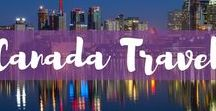 Canada Travel / Traveling to Canada? This board features inspiration, travel guides, travel itineraries and more for all your Canada travel. Plan your Canada vacation here.