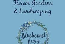 Flower Gardens & Landscaping / Flower Gardens & Landscaping