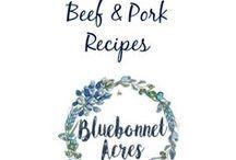 Beef & Pork Recipes / Beef & Pork Recipes