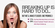 We Just Broke Up / breakup, breakups, ending relationships, we don't want to break up, broke up, end of a relationship, relationship over, breaking up   Dynamic & progressive coaching services giving singles, couples, families & teams the tools to have loving & successful relationships   TheRelationshipFirm.com