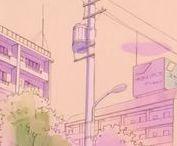 S ~ Aesthatic Anime scenes