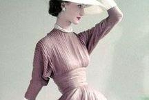 S ~ Old Vintage Fashion