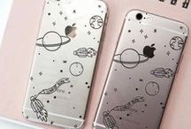 S ~ Phone cases and strap