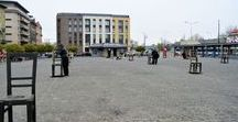 The Ghetto Heroes Square In Krakow