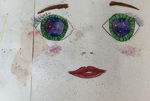 Мои рисунки / Все рисунки из моих скетчбуков!