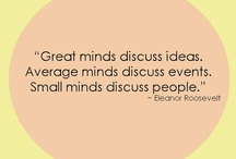 """Quotes, Thoughts, Feelings & Blatantly obvious facts / Good quotes, thoughts, feelings and ideas to help live your best life (Oprah-style, apparently...) - and then there are some pieces of knowledge that are more relatable, funny, real (""""church"""" said in a Snoop Dogg voice from a distance)  or whatever else. 8-)"""