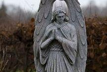 Mourning Has Broken / cemetery art