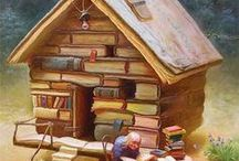 Reading Adventures / Open your imagination.  Open a book.