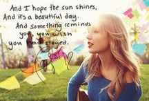 Taylor Swift / by Emari Ashby