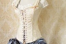 Historical clothing / Vintage and Reproductions  / by Mary DeSive