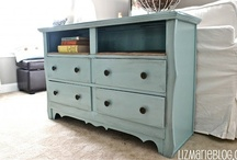 Refinish / Tons of project ideas, including lots of ways to breathe new life into found or vintage items. / by Jen