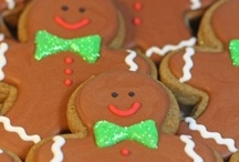 You Can't Catch Me / gingerbread houses, gingerbread cookies