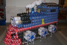 Canstruction / sculptures from cans