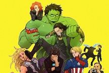 Avengers / by Mary DeSive