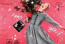 December vintage fashion