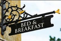 Bed & Breakfast Dreams / My dream would be to own and run a bed and breakfast one day. / by Julie Kelley Bellotte