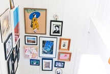 Gallery Wall / Inspiration and tips for creating a great gallery wall. / by Jen