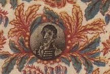 18th and 19th-century fabric