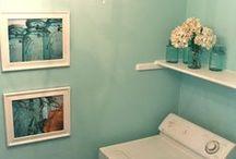laundry room / organization, decor, tips, etc.
