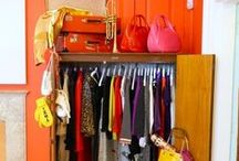 Closet inspirations / Getting motivated for the re-do of a very small closet